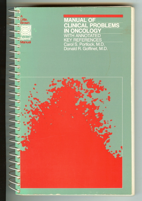 Image for Manual of Clinical Problems in Oncology Portlock