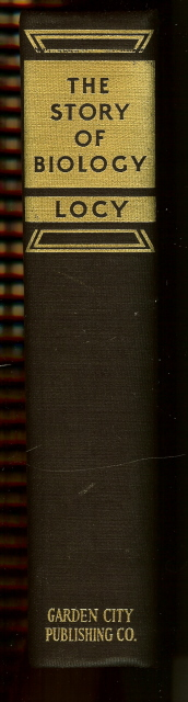 Image for The Story of Biology Locy 1925 First Edition