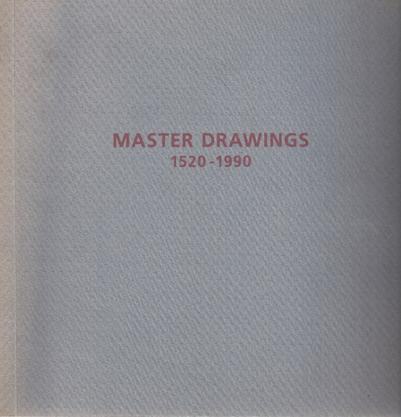 Image for Master Drawings 1520 - 1990