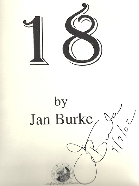 Image for 18 by Burke, Jan