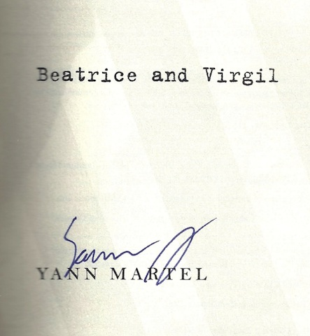 Image for Beatrice and Virgil: A Novel