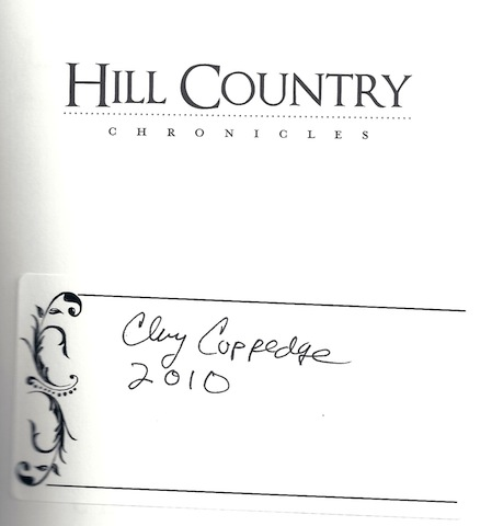 Image for Hill Country Chronicles (TX) (American Chronicles)