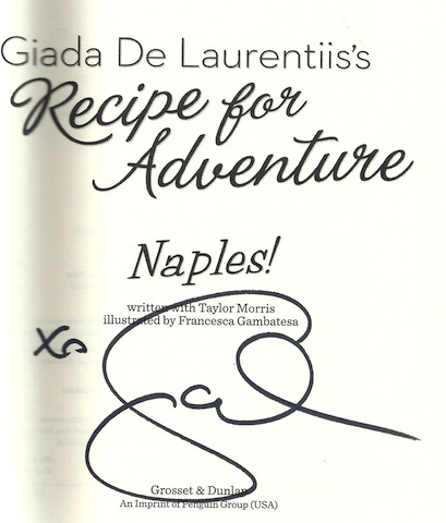Image for Naples! #1 (Recipe for Adventure), Signed