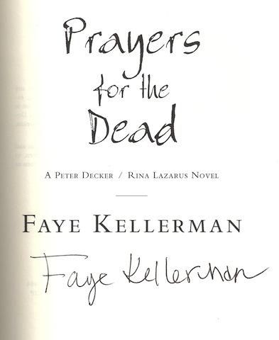 Image for Prayers for the Dead: A Peter Decker/Rina Lazarus Novel (Peter Decker & Rina Lazarus Novels)