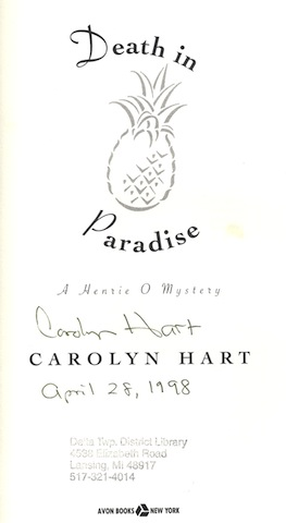 Image for Death in Paradise (A Henrie O Mystery)