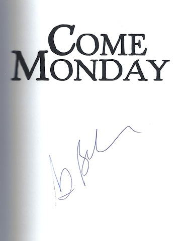 Image for Come Monday, Signed
