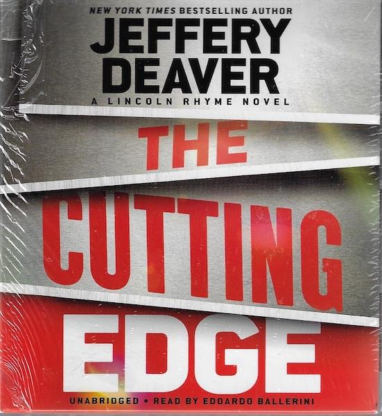 Image for The Cutting Edge (A Lincoln Rhyme Novel)