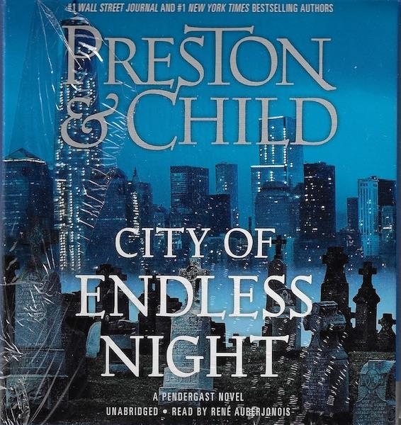 Image for City of Endless Night (Agent Pendergast series) Audio