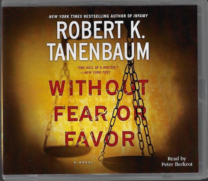 Image for Without Fear or Favor: A Novel (A Butch Karp-Marlene Ciampi Thriller) Audio