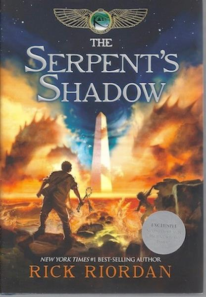 Image for The Serpent's Shadow (The Kane Chronicles, Book 3)