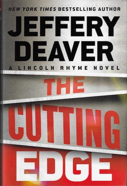 Image for The Cutting Edge (A Lincoln Rhyme Novel) SIGNED