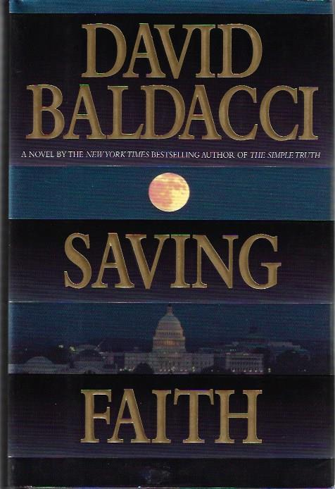 Image for Saving Faith by Baldacci, David SIGNED
