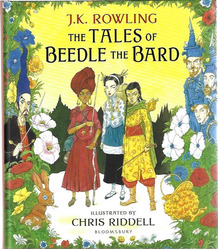 Image for The Tales of Beedle the Bard:SIGNED Illustrated Edition Chris Riddell