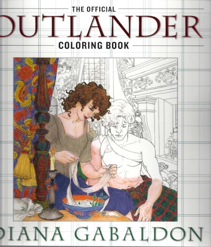 Image for The Official Outlander Coloring Book: An Adult Coloring Book SIGNED