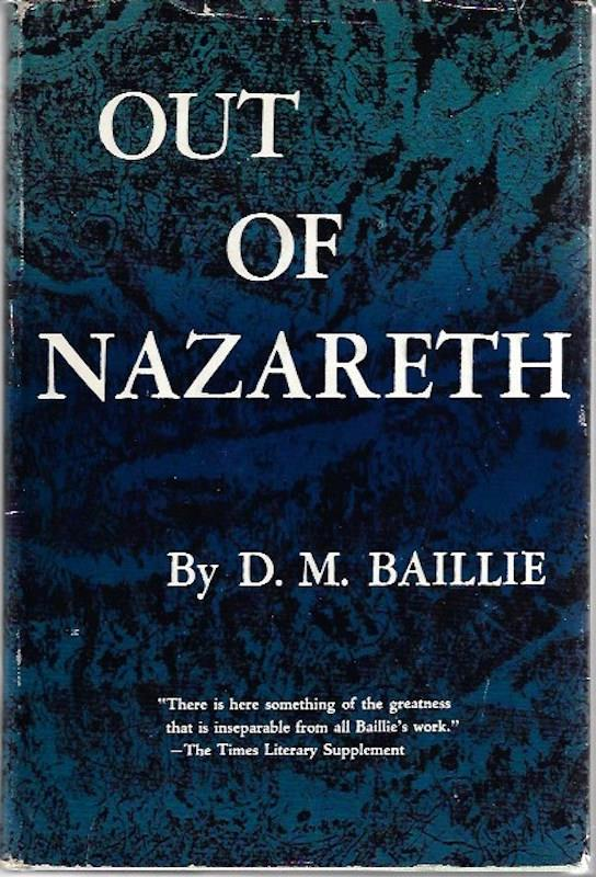 Image for Out of Nazareth: A selection of sermons and lectures