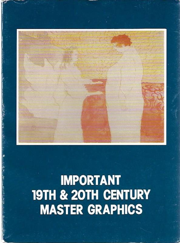 Image for Important 19th and 20th Century Master Graphics