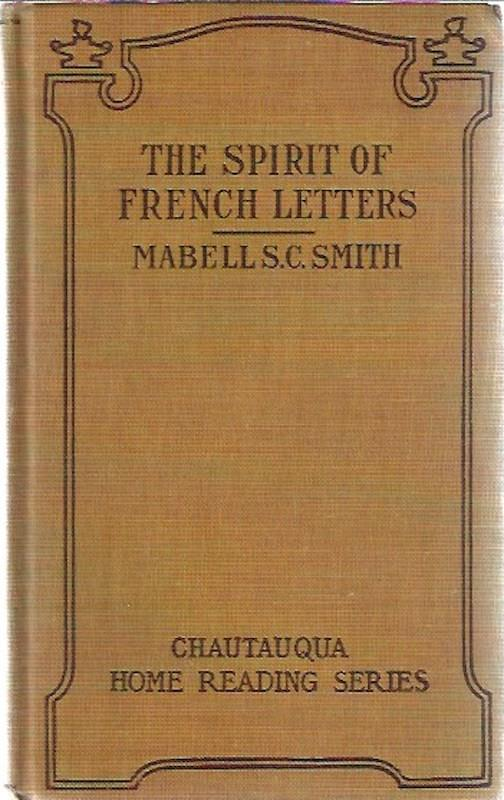 Image for The Spirit of French Letters