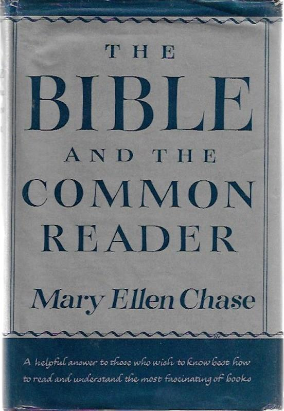 Image for The Bible and the common reader