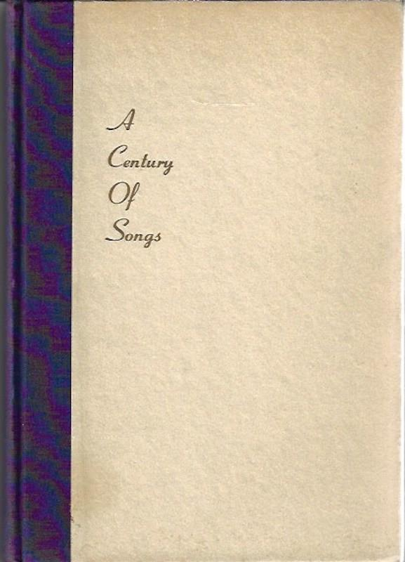 Image for A Century of Songs