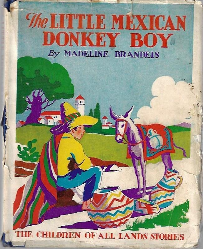 Image for The little Mexican donkey boy (Childen of All Lands Series)
