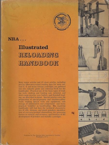 Image for NRA Illustrated Reloading Handbook