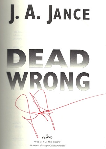 Image for Dead Wrong (Joanna Brady Mysteries, Book 12)