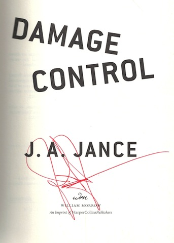 Image for Damage Control (Joanna Brady Mysteries, Book 13)