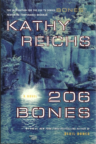Image for 206 Bones (Temperance Brennan Series, Book 1) SIGNED