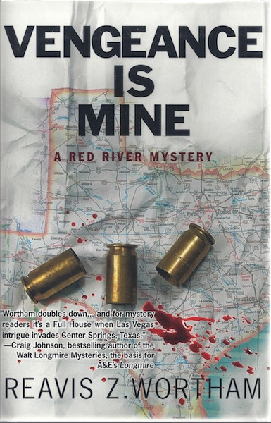 Image for Vengeance is Mine: A Red River Mystery (Red River Mysteries)