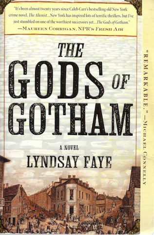 Image for The Gods of Gotham (A Timothy Wilde Novel)