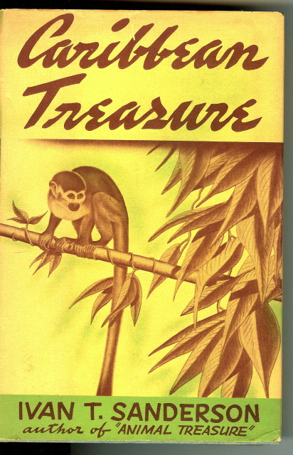 Image for Caribbean Treasure Ivan Sanderson 1939 First Edition [Hardcover]