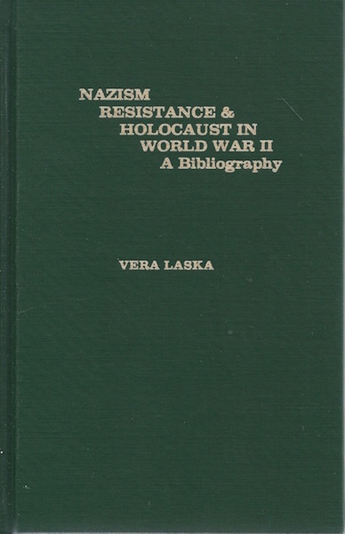 Image for Nazism Resistance and Holocaust in World War II: A Bibliography