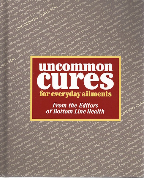 Image for Uncommon Cures for Everyday Ailments