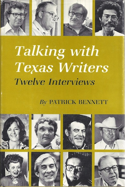 Image for Talking with Texas Writers: Twelve Interviews