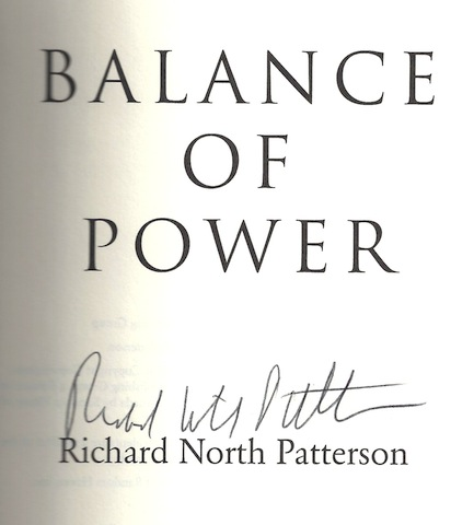 Image for Balance Of Power by Richard North Patterson
