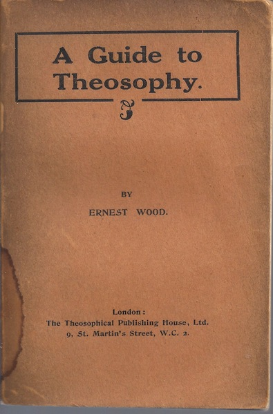 Image for A guide to theosophy