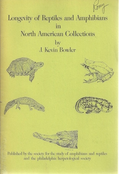 Image for Longevity of Reptiles and Amphibians in North American Collections