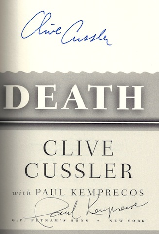Image for White Death: A Novel from the Numa Files by Cussler, Clive; Kemprecos, Paul