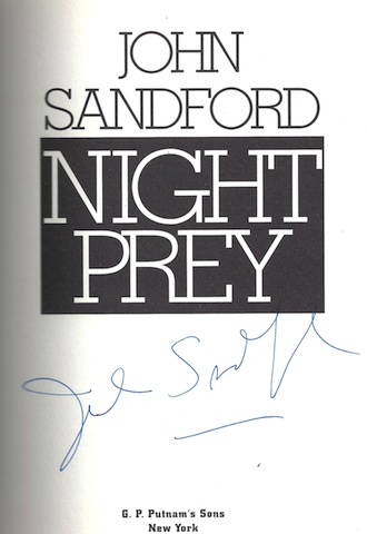 Image for Night Prey by Sandford, John