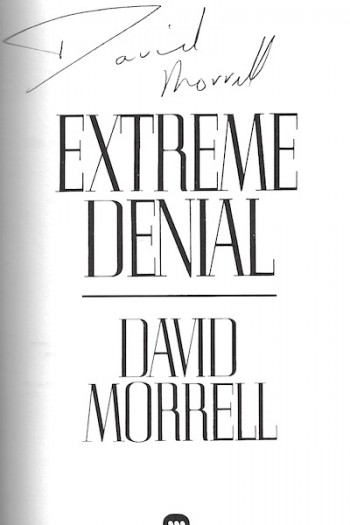 Image for Extreme Denial SIGNED