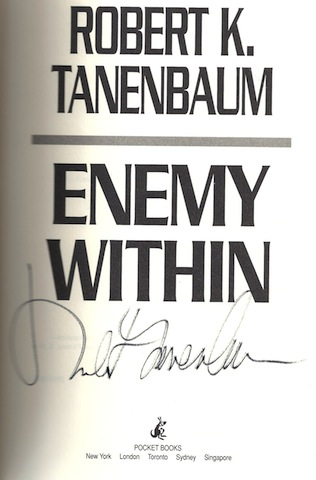 Image for Enemy Within by Tanenbaum, Robert K.