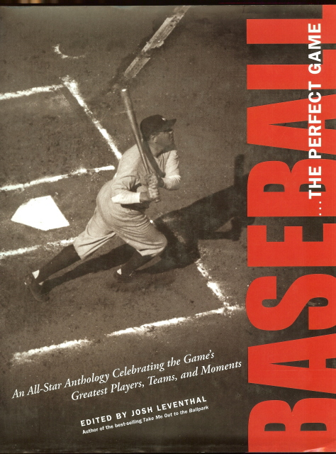 Image for Baseball the Perfect Game All Star Anthology [Hardcover] by Leventhal, Josh