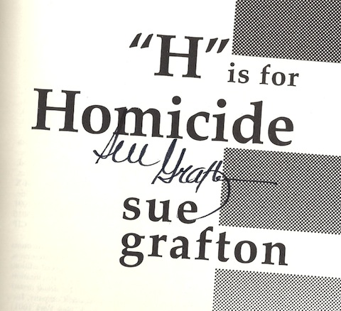 Image for H Is for Homicide (A Kinsey Millhone Mystery)