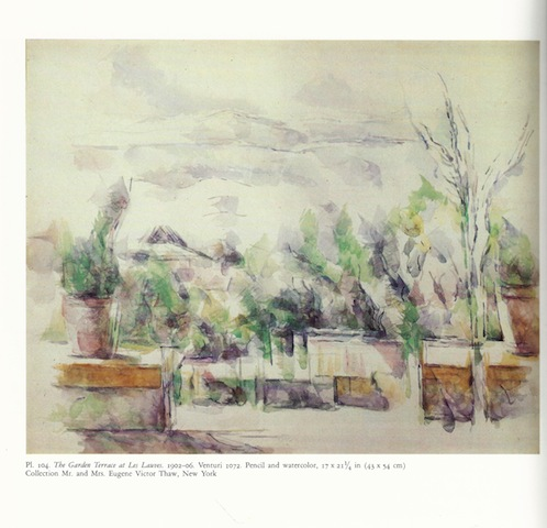 Image for CEZANNE: THE LATE WORK