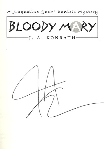 Image for Bloody Mary (Jack Daniels Mysteries) [Hardcover] by Konrath, J. A.