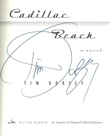 Image for Cadillac Beach by Dorsey, Tim