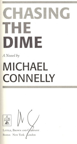 Image for Chasing The Dime by Michael Connelly