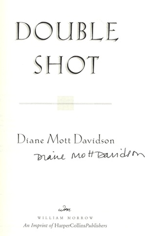 Image for Double Shot (Goldy, Book 12) by Davidson, Diane Mott