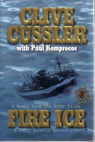 Image for Fire Ice: A Novel from the NUMA Files SIGNED