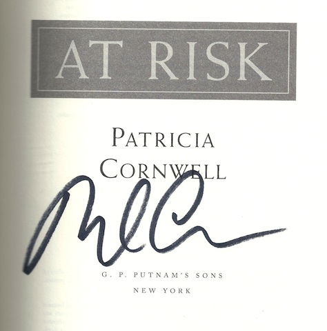 Image for At Risk [Hardcover] by Cornwell, Patricia